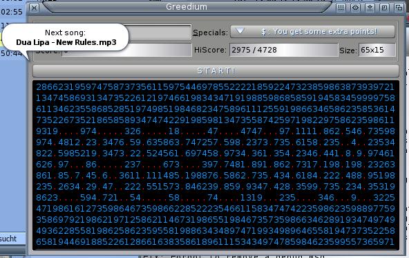 Greedium v1.4